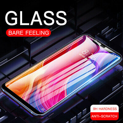 AU2.99 • Buy 9H Full Tempered Glass Screen Protector Film For Xiaomi Redmi Note 9S 8T 8 7 Pro