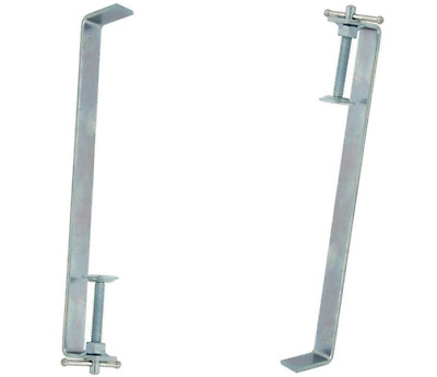 2pcs 12  300mm BrickLaying Profile Clamps Builders Brick • 15.99£
