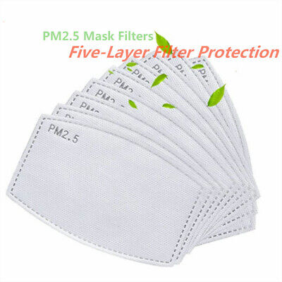 $ CDN9.90 • Buy New 5-20pcs Pm2.5 Filter Element 5 Layer Filter Activated Carbon Filter Pad