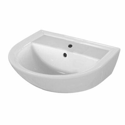 Armitage Shanks Sandringham 21 Wall Hung Basin 500mm Wide 1 Tap Hole • 43.95£