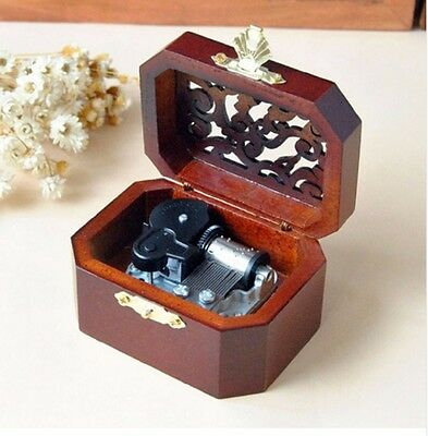 $ CDN18.98 • Buy WOODEN OCTAGON CARVING MUSIC BOX :  Harry Potter Hedwig's Theme Soundtrack