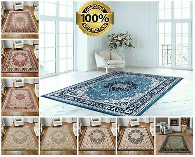 Traditional ROME Rugs Vintage Style Classic Small Large Living Rugs Floor Runner • 79.99£