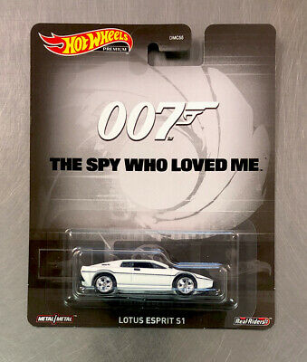 "$ CDN12.03 • Buy Hot Wheels Lotus Esprit S1 ""the Spy Who Loved Me"" 007 White W/ Real-riders Tires"