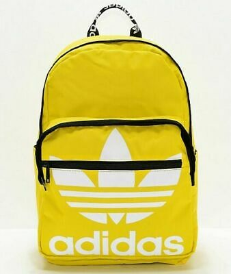 $29.99 • Buy Adidas Originals Trefoil Backpack Laptop Sleeve Yellow White Black