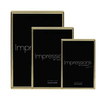 £7.60 • Buy Impressions By Juliana | Brass Plated Photo Frame Collection | Thin Edged