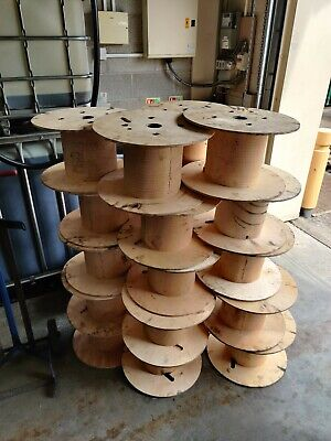 Wooden Cable Reels X 1 • 15£