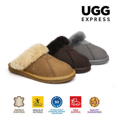 AU50 • Buy 【EXTRA20%OFF】UGG Slippers Women Men Robert AuDouble Face Sheepskin Water Res.