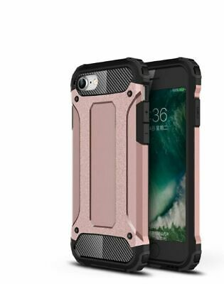 AU6.99 • Buy Rose Gold Armor Heavy Duty Shockproof Cover Case For IPhone SE2(2020) / 8G / 7G