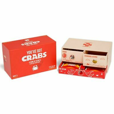 AU39.95 • Buy You've  Got  Crabs Card Game By The Makers Of Exploding Kittens