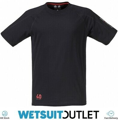 Musto Evolution Logo Short Sleeve Tee T Shirt Top In BLACK Yachting Trousers • 22.55£