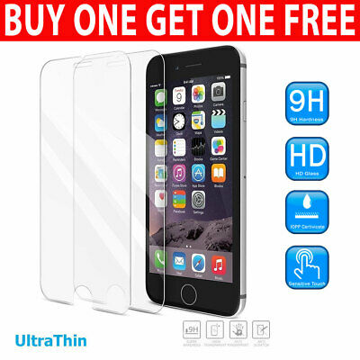 For Apple IPhone 7 Plus Tempered Glass Screen Protector - 100% Genuine • 1.25£