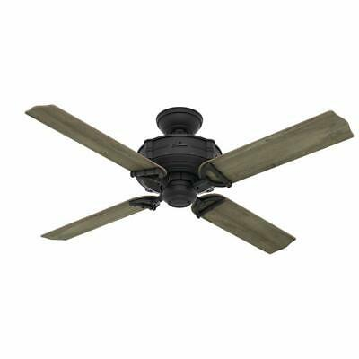 $199.99 • Buy Hunter 54181 Brunswick 52  Ceiling Fan With Handheld Remote, Natural Iron