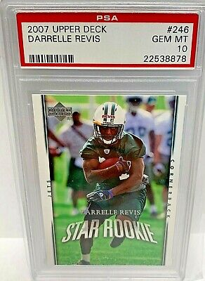 $17.98 • Buy Darrelle Revis RC PSA 10 2007 Upper Deck  Star Rookie #246 NY Jets 💎 Perfect 10