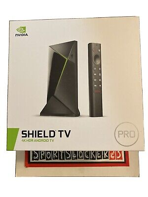$ CDN379.61 • Buy NVIDIA SHIELD TV Pro 16GB 4K Android HDR Streaming Media Player NEW - IN HAND