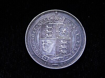 $4.25 • Buy 1888 Great Britain Silver Sixpence Queen Victoria Coin KM#757