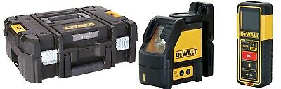 $297.77 • Buy NEW DEWALT DW0889CG +TSTAK Laser Level & Laser Measure Tool Kit, Cross Line