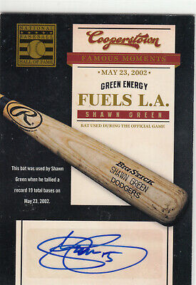 $7.99 • Buy 2012 Panini Cooperstown Famous Moments Shawn Green Autograph Auto Dodgers