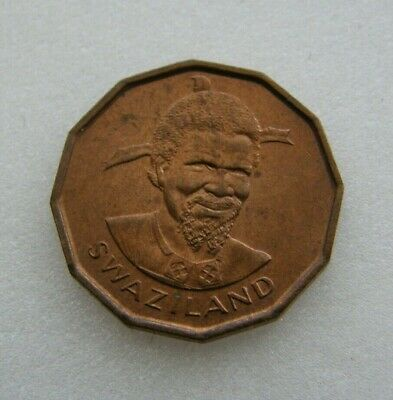 $2.80 • Buy Swaziland Coin 1 Cent 1975 Bronze 18.3mm