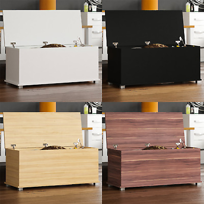 Storage Ottoman Chest Toy Box Bench Bedroom Bedding Blanket Box Wooden Large • 39.95£