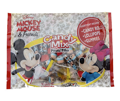 $18.99 • Buy Mickey Mouse Candy Mix Piñata Filler Lollipops Gummies Party Favors