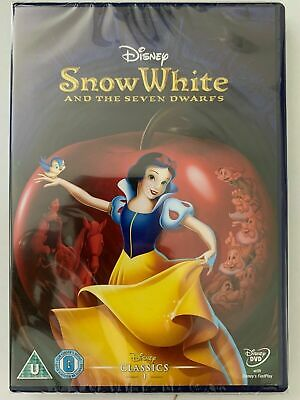 Snow White And The Seven Dwarfs (DVD) Disney 1st Animated Classic New And Sealed • 8.49£