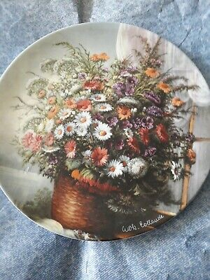 Classic Rose Rosenthal Group Germany Collectors Plate ERINNERUNG - MEMORY • 15£