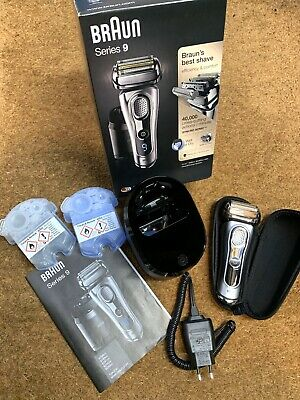 View Details BRAUN SERIES 9 9290cc MENS WET & DRY ELECTRIC RAZOR SHAVER / CLEAN & CHARGE STN • 149.00£