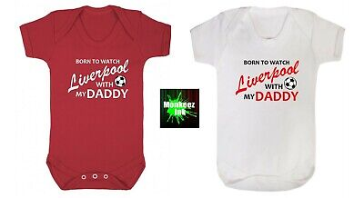 Liverpool Football Club Baby Grow Vest Boy Girl Clothes Present Shower Gift  • 6.50£