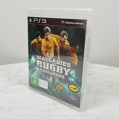 AU20 • Buy WALLABIES RUGBY CHALLENGE PS3 Playstation 3 Video Game NEW + SEALED
