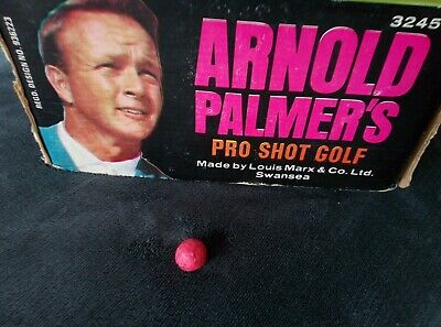 £3 • Buy Vintage Arnold Palmer's Pro Shot Golf Game By Marx-ONE Spare Red Ball