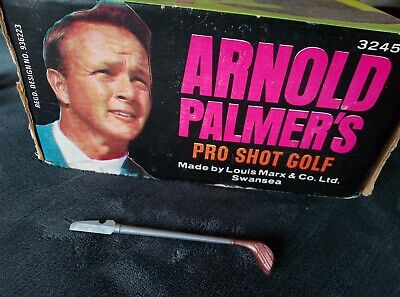 £7 • Buy Vintage Arnold Palmer's Pro Shot Golf Game By Marx - Spare #4 Wood