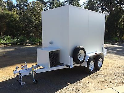 AU10500 • Buy 9 X 5 Cool Room, Portable Trailer Coolroom, Refrigerated - Brand New