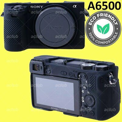 $ CDN23.60 • Buy Sony A6500 Silicone Protective Case Camera Body Skin Cover - Black