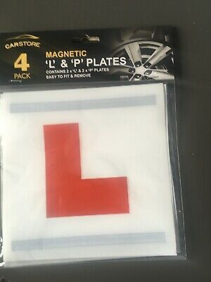 £1.99 • Buy Magnetic L And P Plates Learner Driver