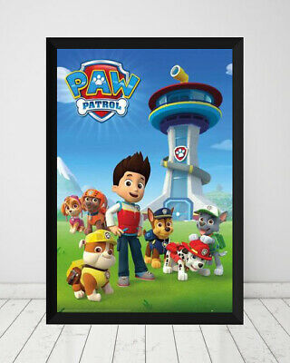 AU90 • Buy Paw Patrol - HQ *Framed* Large Poster (90cm X 60cm) Ready To Hang