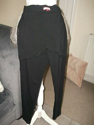 Women`s Joe Browns Black Leggings/attached Skirt  Size 12-14 Worn Once • 6£
