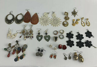 $ CDN25 • Buy Lot Of Vintage Costume Jewelry Big Chunky Runway Some Swarovski Crystal