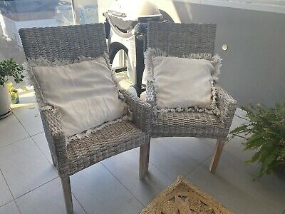 AU150 • Buy Wicker Chairs For Sale $150 Each (4 Available)