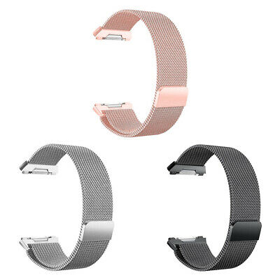 $ CDN8.75 • Buy For Fitbit Ionic Bands Large Replacement Magnetic Loop Strap Stainless Ste D8Z6