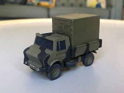 1/72 1/76 British Army Military 4x4 Unimog With Removable Container Load • 20£