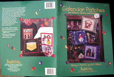 $9.99 • Buy PATTERN QUILT Quilting Applique 12 Month CALENDAR BLOCKS PILLOW CLOTHING Holiday