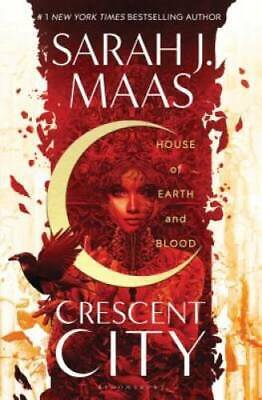 $13.98 • Buy House Of Earth And Blood (Crescent City) - Hardcover By Maas, Sarah J. - GOOD