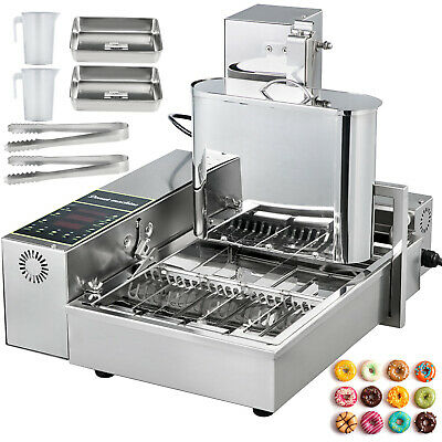 Automatic Donut Maker Machine Automatic Donut Maker 4-Row Commercial Donut Maker • 533.99£
