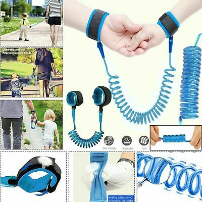 Safety Anti-lost Strap Toddler Kid Baby Link Harness Child Wrist Band Belt Reins • 4.99£