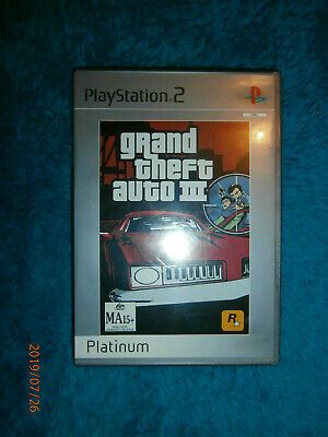 AU9.95 • Buy Grand Theft Auto III 3 (Sony PlayStation 2, 2003) PS2 Game PAL Open World