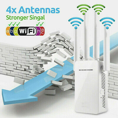 WiFi Extender Range Signal Booster Wireless Band Network Repeater Router • 18.99£