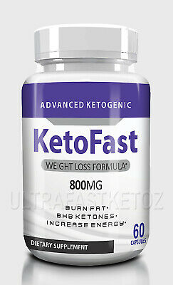 $17.80 • Buy  KETOFAST ADVANCED  WEIGHT LOSS 60 Caps KETOSIS SUPPORT KETO FAST