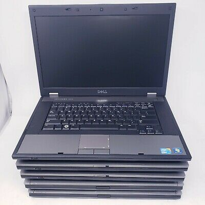 $ CDN593.56 • Buy Lot Of 5 Dell Latitude E5510-E6510 Core I5-i7 1.7GHz-2.6Ghz 4GB RAM 250GB-320GB