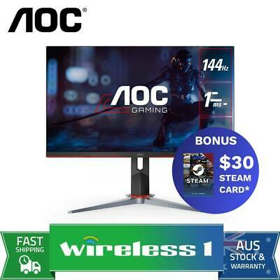 AU299 • Buy AOC 27G2 27in 144Hz Full HD 1ms FreeSync IPS Gaming Monitor G-SYNC Compatible