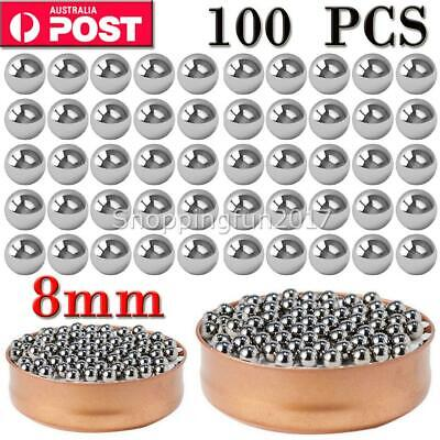 AU10.99 • Buy 100pcs Replacement Parts 8mm Bike Bicycle Carbon Steel Loose Bearing Ball